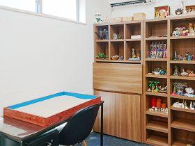 診察室隣の箱庭